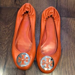 AUTHENTIC TORY BURCH BALLERINA SLIPPERS